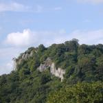 green outcrop